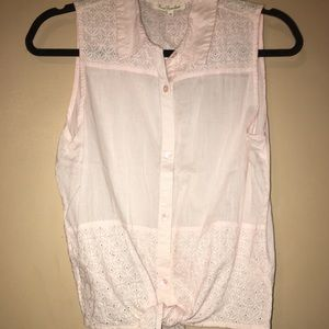 Tops - 🌸3 for $12🌸 Pale Pink Sleeveless Top